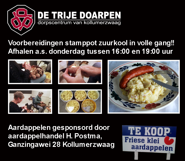 Stamppot Zuurkool !!